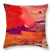 Abstract 695623 Throw Pillow