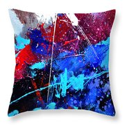 Abstract 71001 Throw Pillow