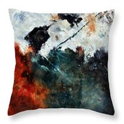 Abstract 881101 Throw Pillow