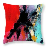 Abstract Admixture Throw Pillow