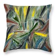 Abstract Art Fifteen Throw Pillow