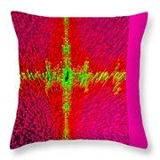Abstract Art In 3d Throw Pillow