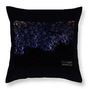 Abstract Art Series. Blue Fantasy. Throw Pillow