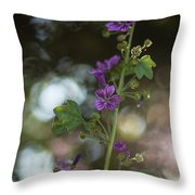 Abstract Beauty Throw Pillow