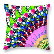 Abstract Digital Art Throw Pillow by Phil Perkins