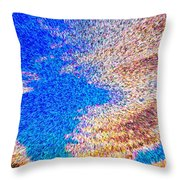 Abstract Dimensional Art Throw Pillow