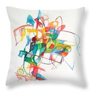 Elul 5 Throw Pillow