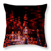 Abstract Fractals 1 Throw Pillow