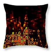 Abstract Fractals 2 Throw Pillow