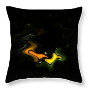 Abstract Fractals Lovers Throw Pillow