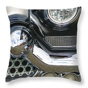 Abstract Front End Throw Pillow