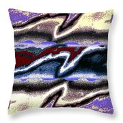 Abstract Fusion 101 Throw Pillow