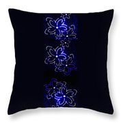 Abstract Fusion 106 Throw Pillow by Will Borden