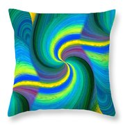 Abstract Fusion 108 Throw Pillow