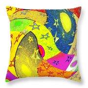 Abstract Fusion 110 Throw Pillow