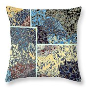 Abstract Fusion 111 Throw Pillow