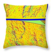 Abstract Fusion 113 Throw Pillow