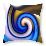 Abstract Fusion 114 Throw Pillow by Will Borden