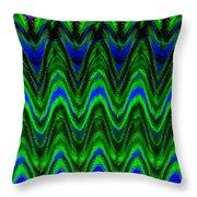 Abstract Fusion 125 Throw Pillow