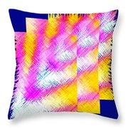 Abstract Fusion 127 Throw Pillow
