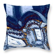 Abstract Fusion 137 Throw Pillow