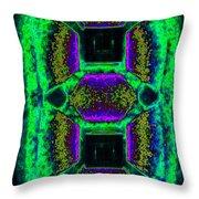 Abstract Fusion 139 Throw Pillow