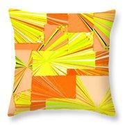 Abstract Fusion 14 Throw Pillow
