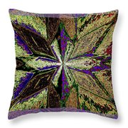 Abstract Fusion 145 Throw Pillow