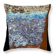 Abstract Fusion 153 Throw Pillow
