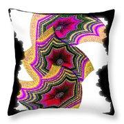 Abstract Fusion 154 Throw Pillow