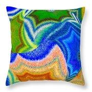 Abstract Fusion 155 Throw Pillow
