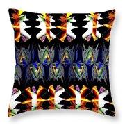 Abstract Fusion 156  Throw Pillow