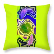 Abstract Fusion 157 Throw Pillow