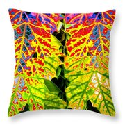 Abstract Fusion 16 Throw Pillow