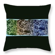 Abstract Fusion 160 Throw Pillow