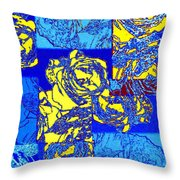 Abstract Fusion 22 Throw Pillow