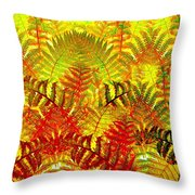 Abstract Fusion 23 Throw Pillow