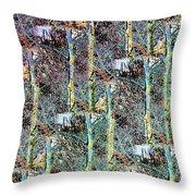 Abstract Fusion 3 Throw Pillow