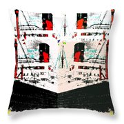 Abstract Fusion 33 Throw Pillow