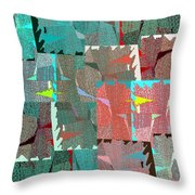 Abstract Fusion 39 Throw Pillow