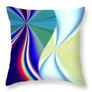 Abstract Fusion 50 Throw Pillow