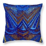 Abstract Fusion 59 Throw Pillow