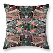 Abstract Fusion 68 Throw Pillow