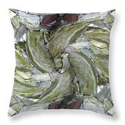 Abstract Fusion 70 Throw Pillow