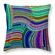 Abstract Fusion 78 Throw Pillow