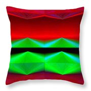 Abstract Fusion 83 Throw Pillow