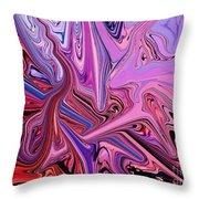Abstract-hypnotize Throw Pillow