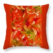 Abstract In Motion  Throw Pillow