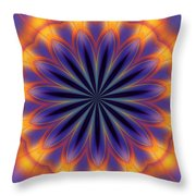 Abstract Kaleidoscope Throw Pillow