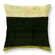 Abstract Landscape - The Highway Series Ll Throw Pillow